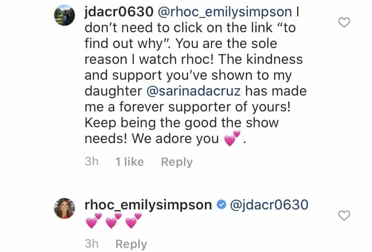 RHOC Fans Support Emily Simpson After Tamra Diss 2