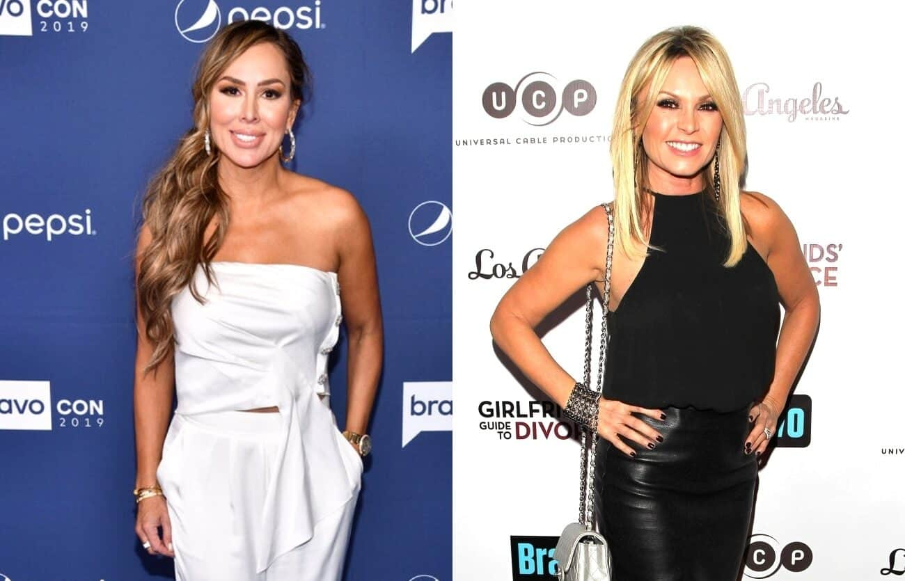 RHOC's Kelly Dodd Implies Tamra Judge Was 'Disowned' by Daughter, Accuses Tamra of Lying About Her Being Fired From Show