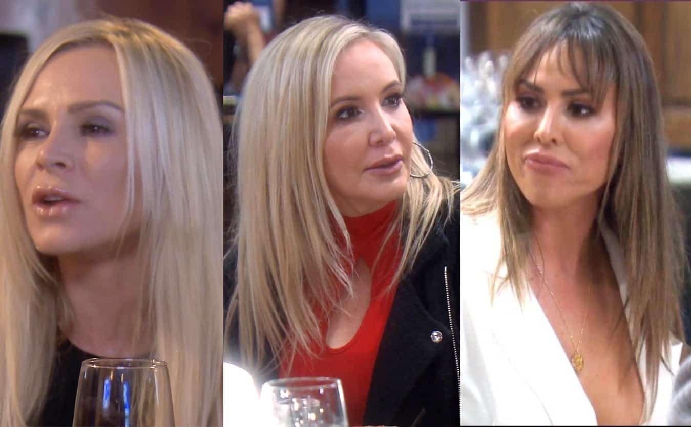 RHOC Recap: Tamra Caught Badmouthing Shannon as Kelly Discovers Tamra Started 'Train' Rumor