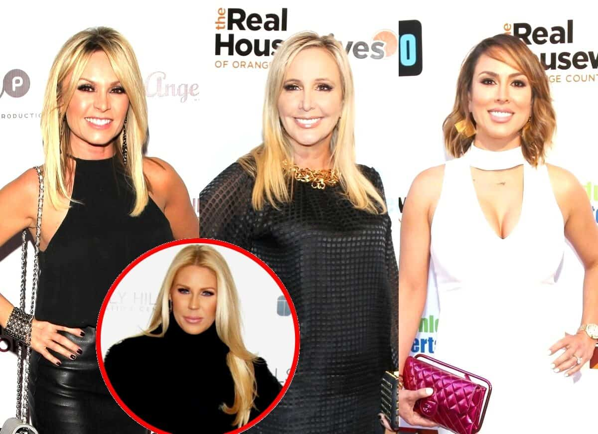 RHOC's Tamra Judge Denies Trashing Shannon and Blames 'Bad Editing' Plus She Slams Kelly as a 'Liar' as Gretchen Rossi Feels Vindicated