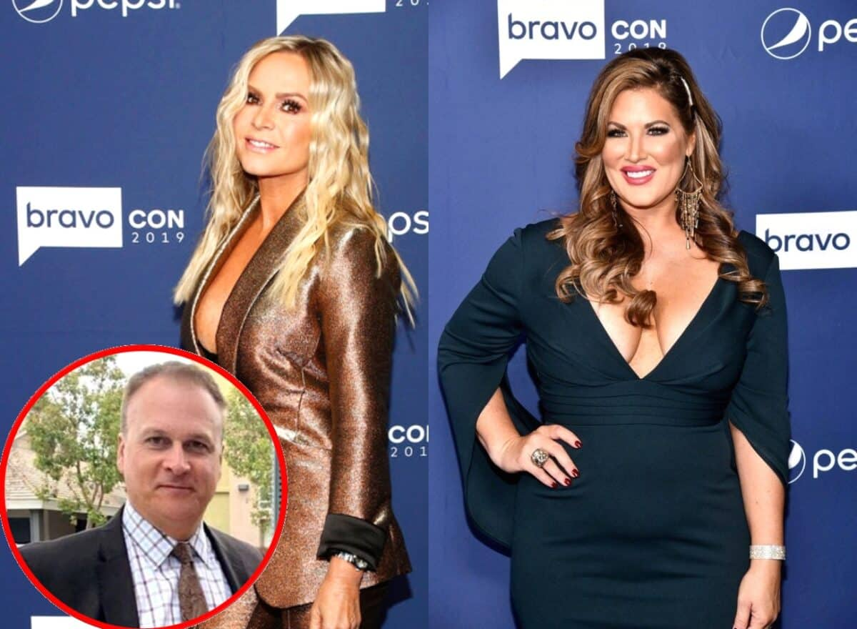 """RHOC's Tamra Judge Says """"There's No Real Connection"""" With Costar Emily Simpson While on a Panel at BravoCon, Plus She Says Ex-Husband Simon Barney Is an """"Amazing Dad"""""""