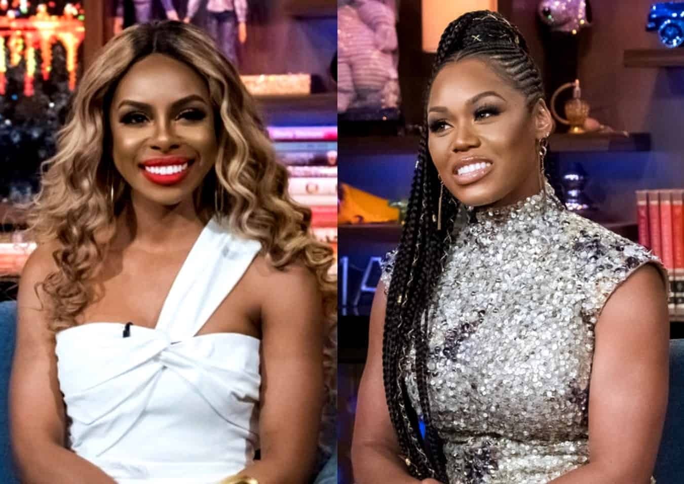 Candiace Dillard-Bassett Seemingly Shades Monique Samuels With a Snarky Tweet After She Claimed Bravo Banned Her From Doing Press Interviews Since Her Exit From RHOP