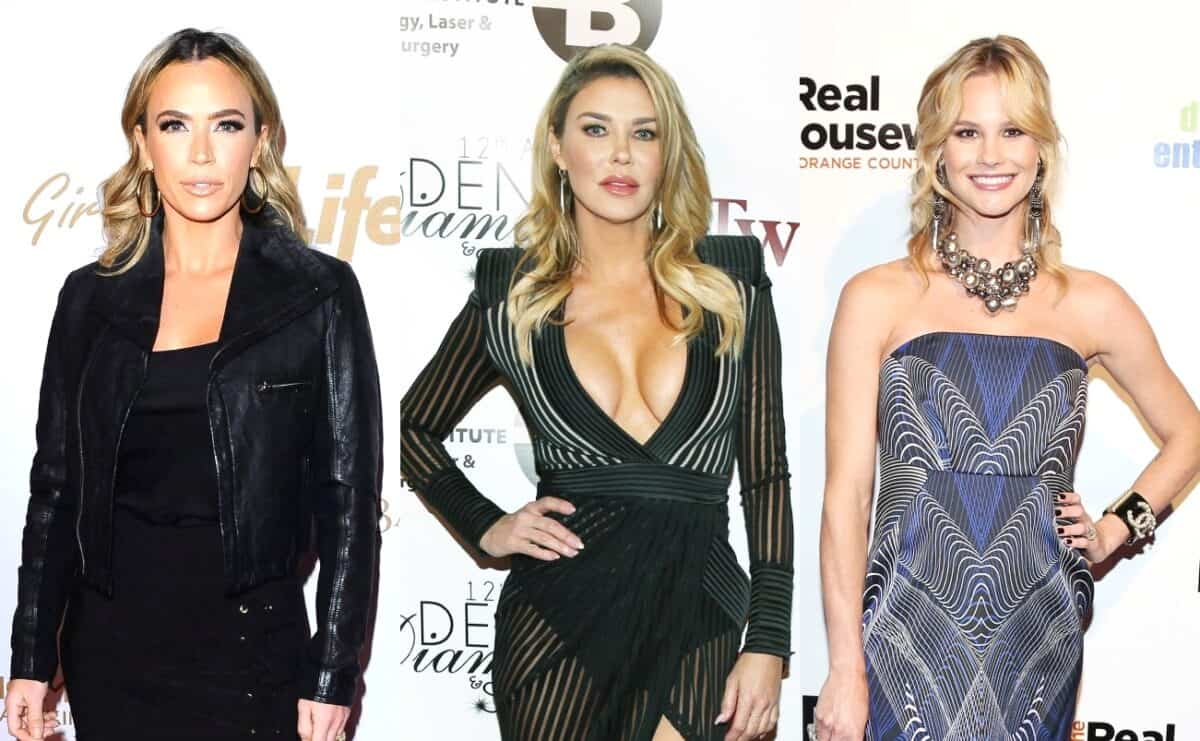 RHOBH's Teddi Mellencamp and Brandi Glanville Slam Meghan King Edmonds