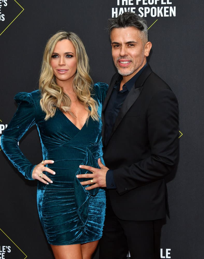 Teddi Mellencamp and Edwin Arroyave Attend the E Peoples Choice Awards