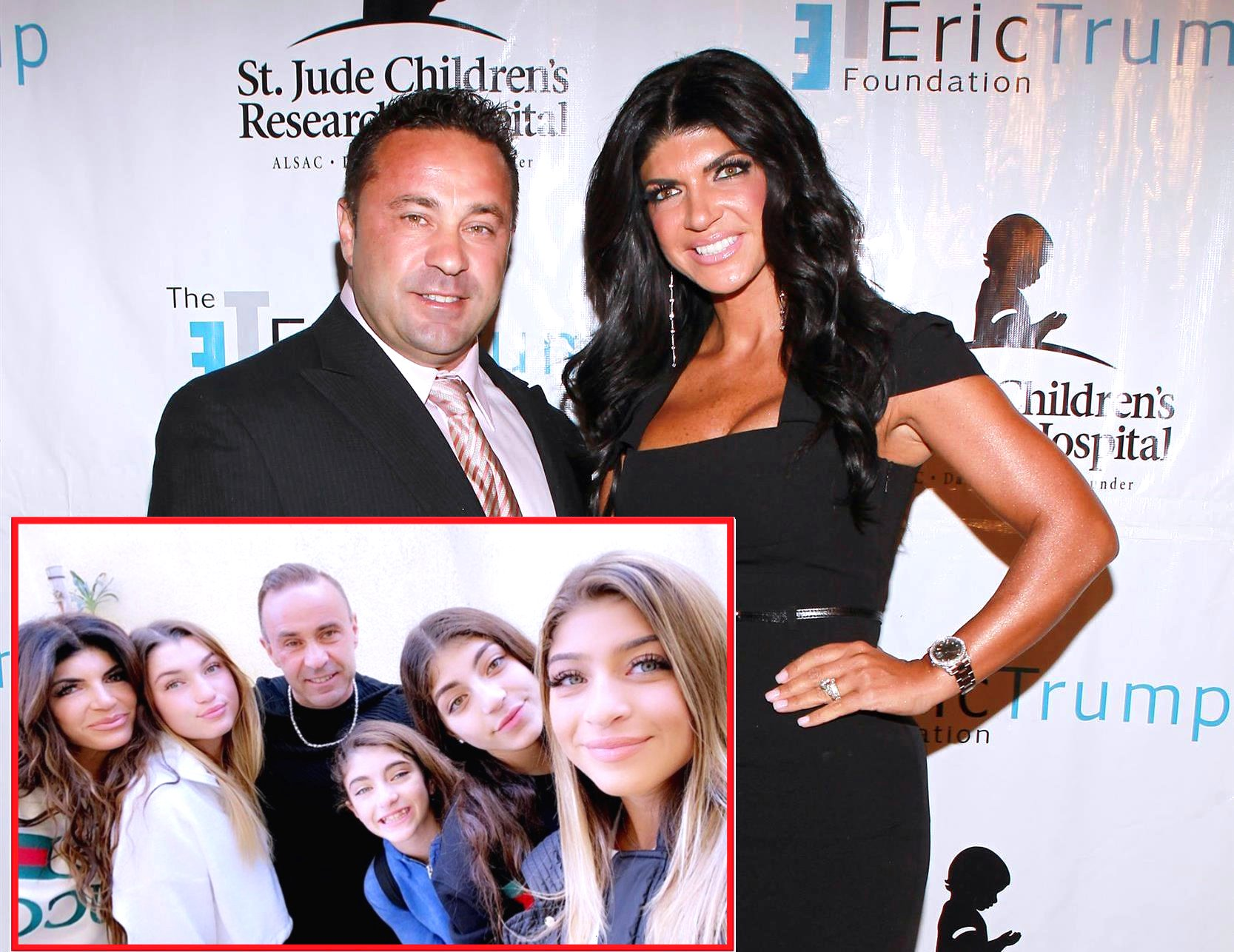 PHOTO: RHONJ's Teresa Giudice and Her Daughters Reunite With Joe in Italy, See Their Happy Family Pic