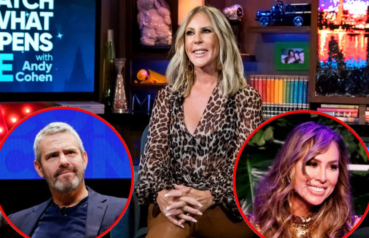 Vicki Gunvalson Accuses Bravo of 'Lying' to Her and Talks Drama With Andy Cohen at RHOC Reunion, She Shares What Happened With Kelly at BravoCon and RHOC Live Viewing Thread!