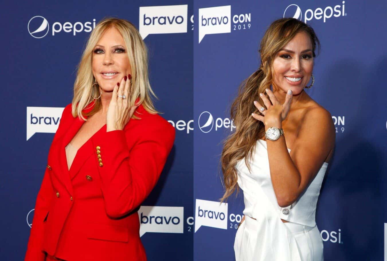 "Vicki Gunvalson Implies Kelly Dodd Got Engaged for a Storyline on the RHOC, Slams Her as ""Irresponsible"""