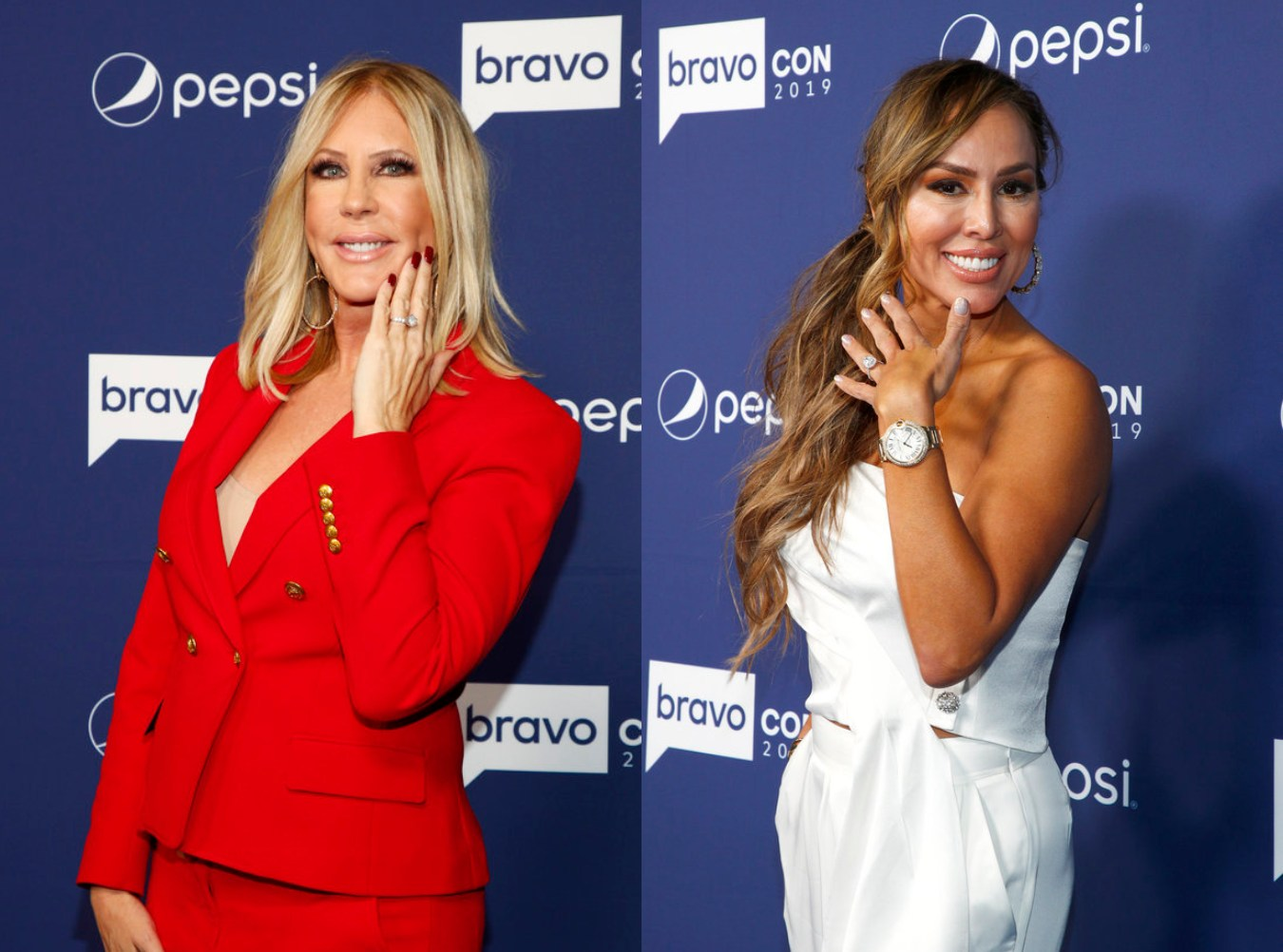 """Vicki Gunvalson Implies Kelly Dodd Got Engaged for a Storyline on the RHOC, Slams Her as """"Irresponsible"""""""