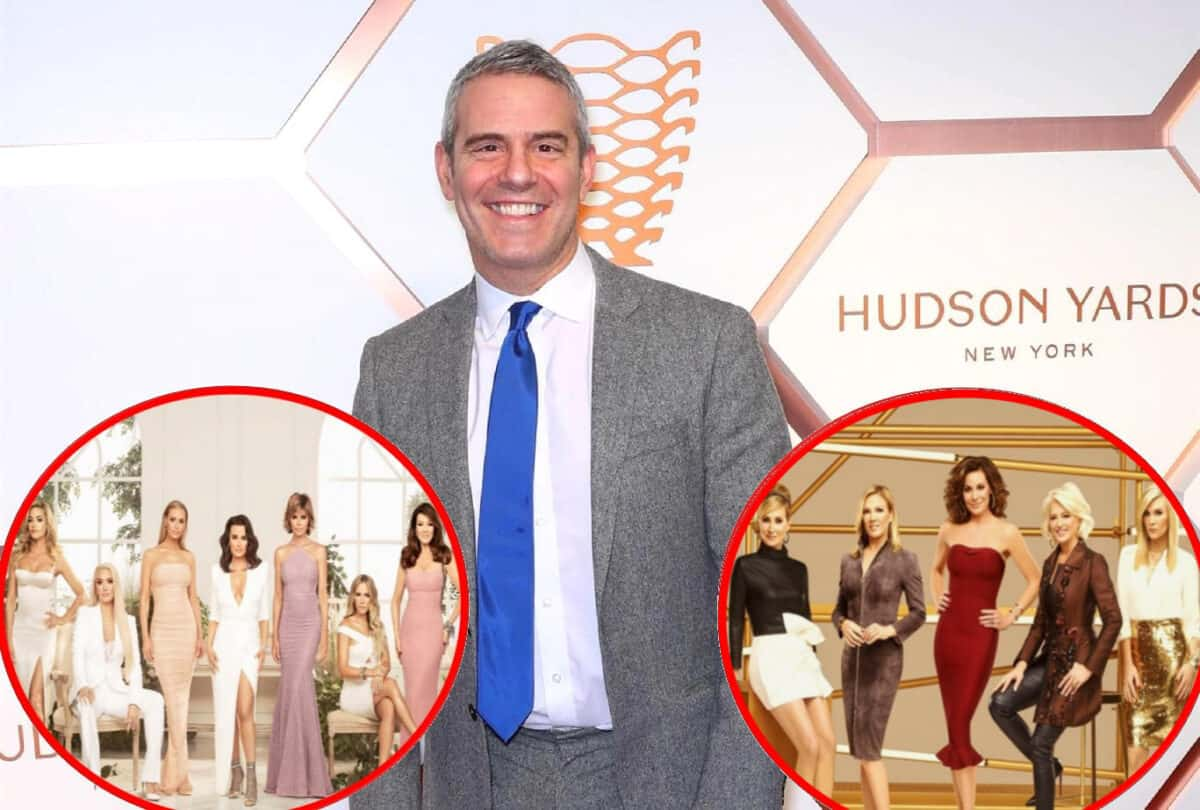 Andy Cohen Slams Claims RHOBH's New Season is Boring and Needed Camille to Spice Things Up, Plus He Defends RHONY Against Criticism of Going to Same Vacation Spots