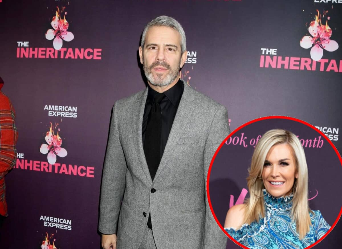 Andy Cohen Addresses Real Housewives of Chicago Rumors, Find Out If a New Show is Being Launched With RHONY's Tinsley Mortimer
