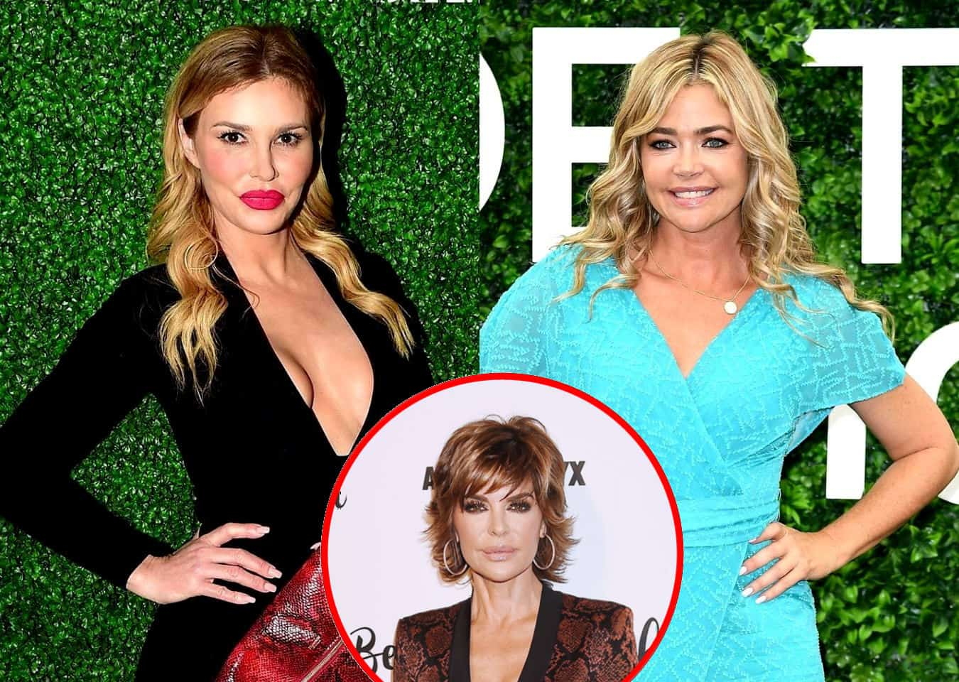 "RHOBH Star Brandi Glanville Calls Out Denise Richards for ""Lies"" After Her Open Marriage Denial, Plus Why Denise is Disappointed in Lisa Rinna"
