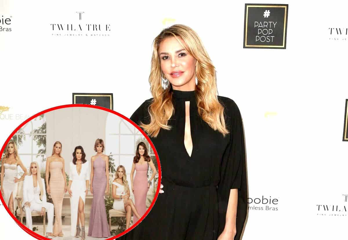 Brandi Glanville Reveals a RHOBH Star is 'Refusing to Film' and May Not Be Seen 'Ever Again,' Confirms She's Back for Season 10 and Claims Planting Stories is What Lisa Vanderpump Does