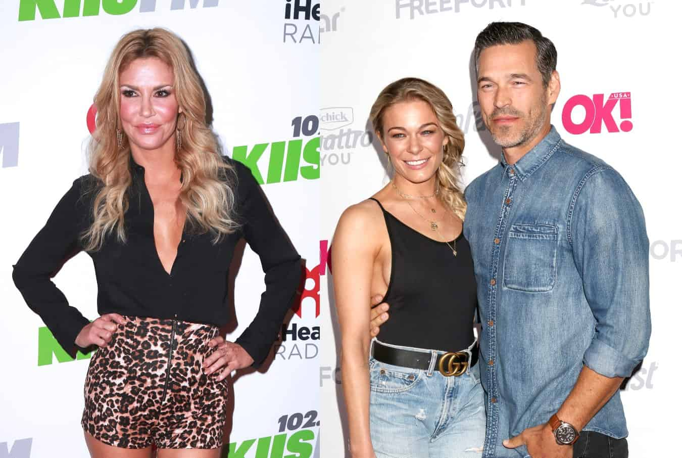 RHOBH's Brandi Glanville Shades Leann Rimes and Eddie Cibrian Over Not Inviting Her Over for Christmas After Sharing a 'Modern Family' Photo With Them