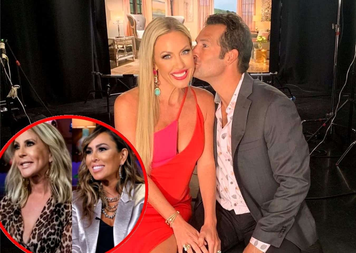 RHOC's Braunwyn Windham Burke Reveals Her Two Rules for Threesomes With Husband Sean and Explains How Kelly Dodd is Involved in Her Feud With Vicki Gunvalson
