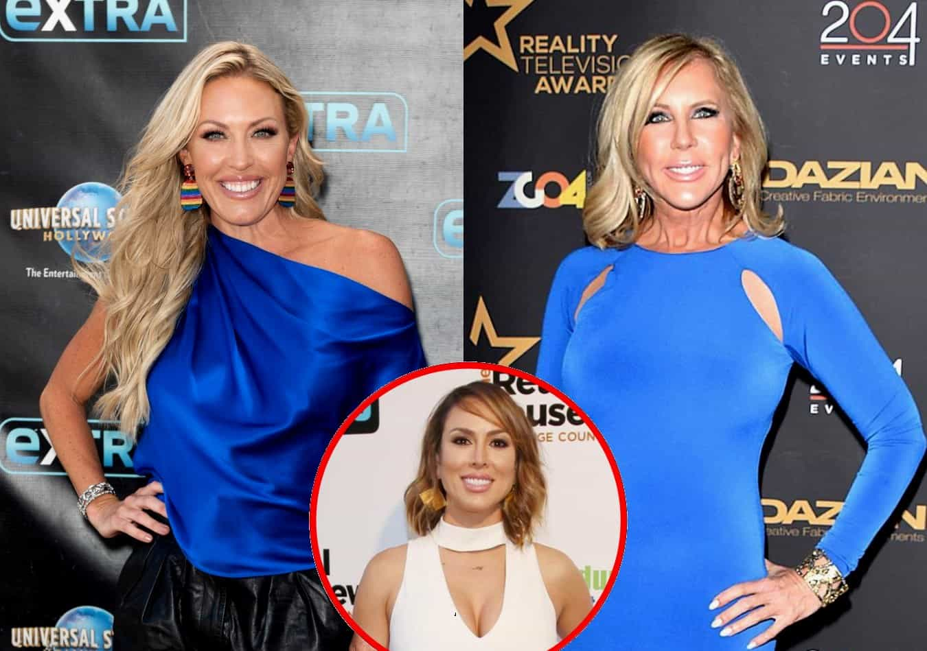 Braunwyn Windham-Burke Shades Vicki Gunvalson's Claim That RHOC is 'Her Show' and Vicki Fires Back, Plus She Responds to Fan Who Criticizes Her Friendship With Kelly