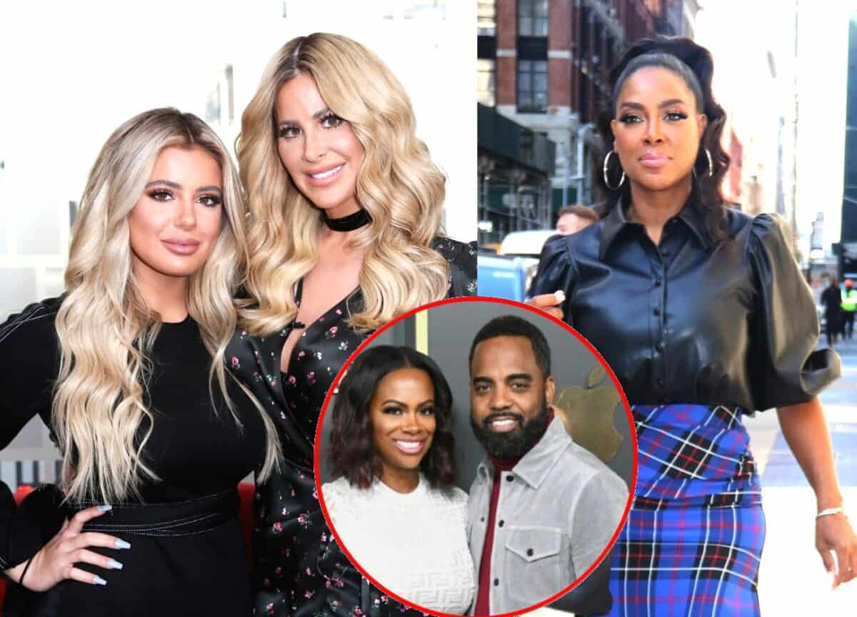 Don't Be Tardy's Kim Zolciak and Daughter Brielle Biermann Slam RHOA's Kenya Moore