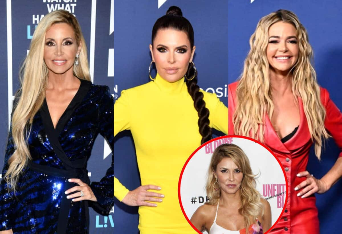 RHOBH's Camille Grammer Refutes Lisa Rinna's Claim of Contacting Denise Richards Privately After Her Surgery Before Calling Her Out on Instagram, Shares More Details About PI Drama Plus Brandi Weighs In