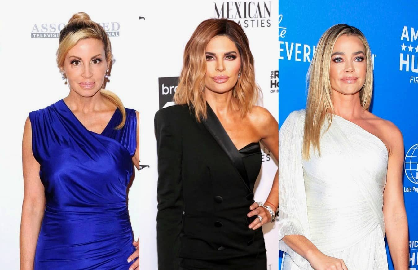 Camille Grammer Reveals a RHOBH Costar Hired a PI to Investigate a Castmate, Accuses Lisa Rinna of 'Backstabbing' Denise Richards and Shares if Denise Has Quit Show, Plus Lisa Responds