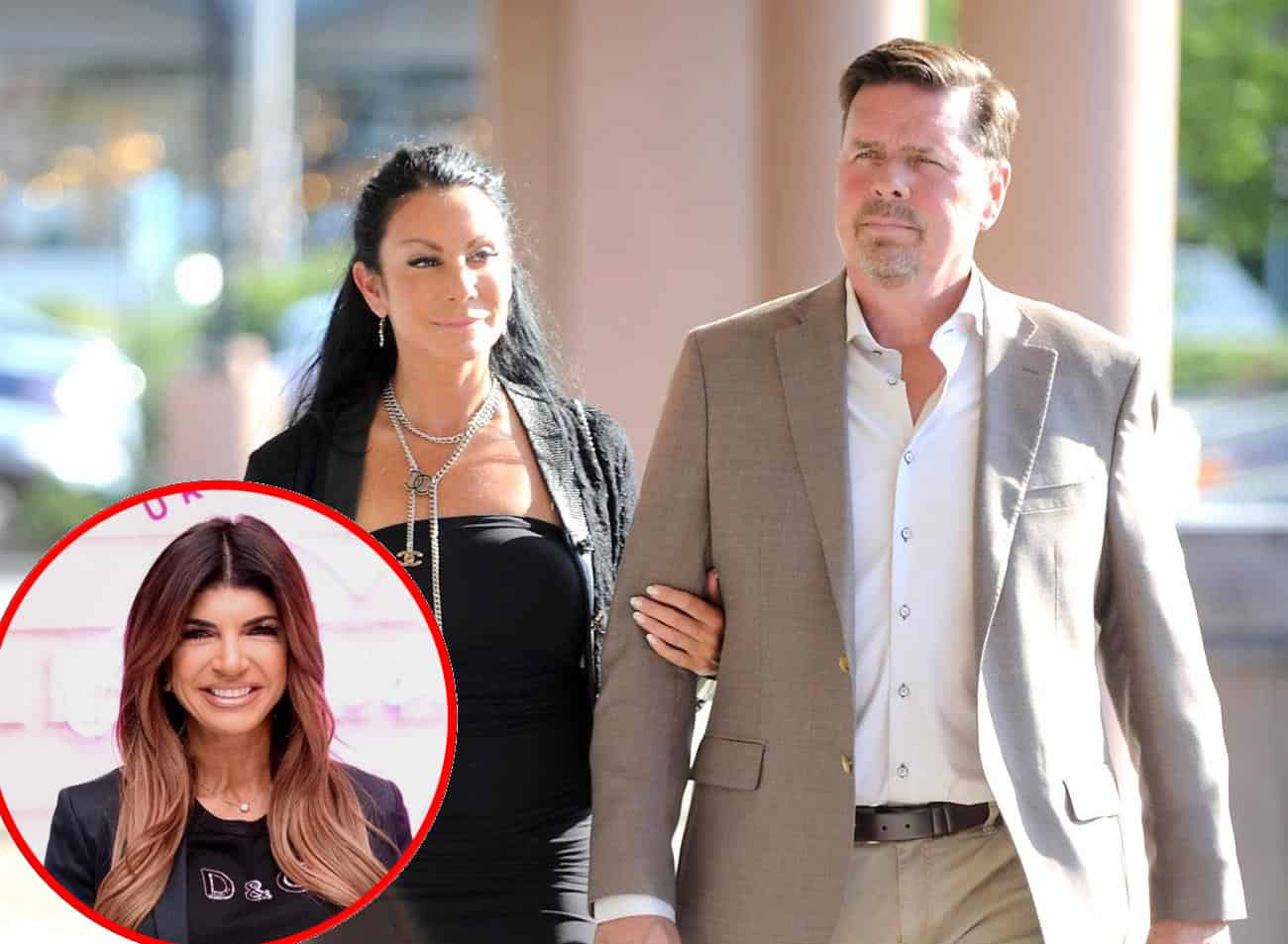 "Marty Caffrey Shades Teresa Giudice and Says RHONJ Cast Owe ""Careers"" to Danielle Staub! Plus Danielle Dishes on Hooking Up With Marty Post-Divorce"