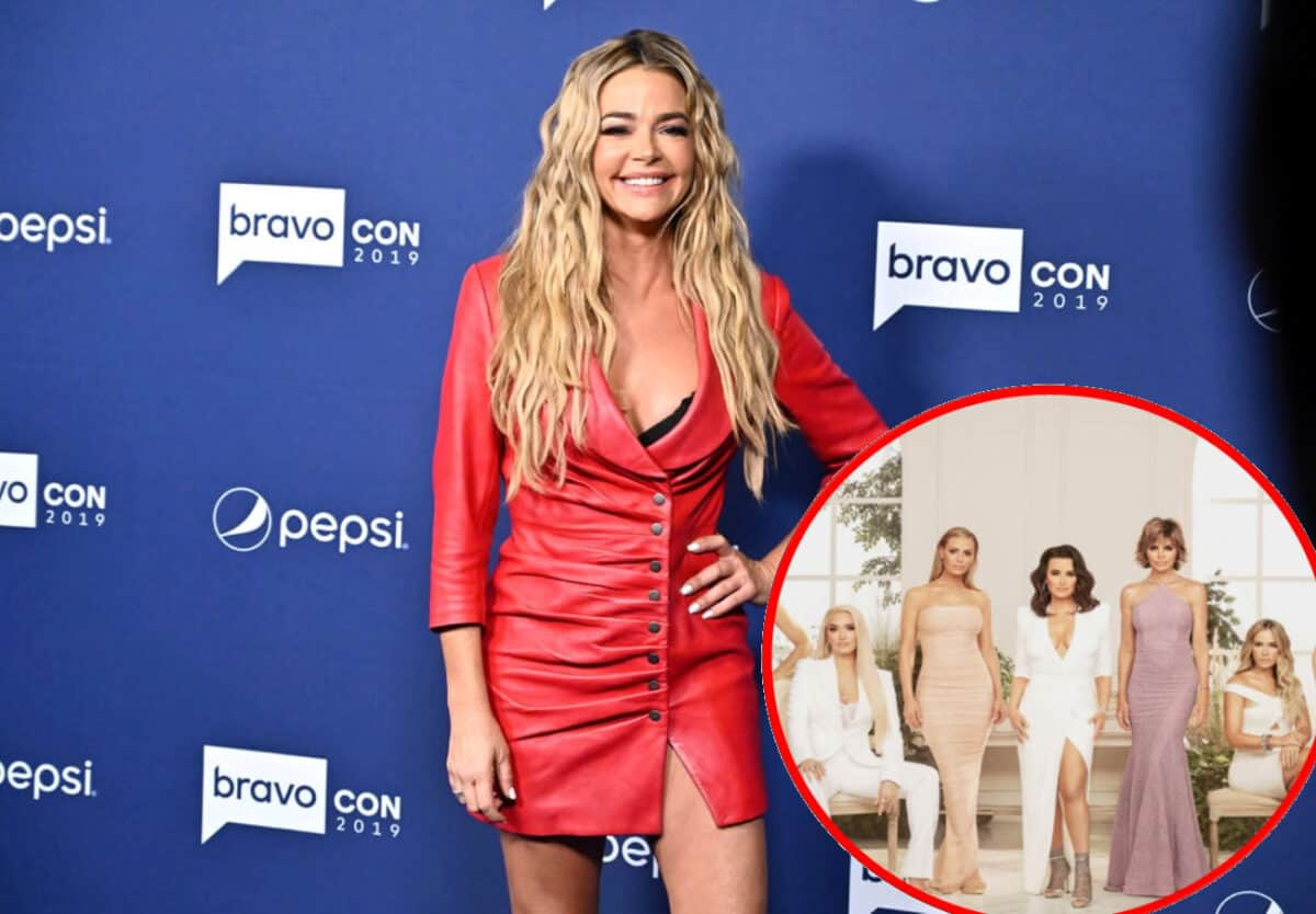 Denise Richards Not Speaking to Some of the RHOBH Cast