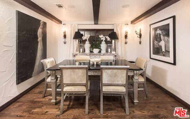RHOBH Faye Resnick Dining Room