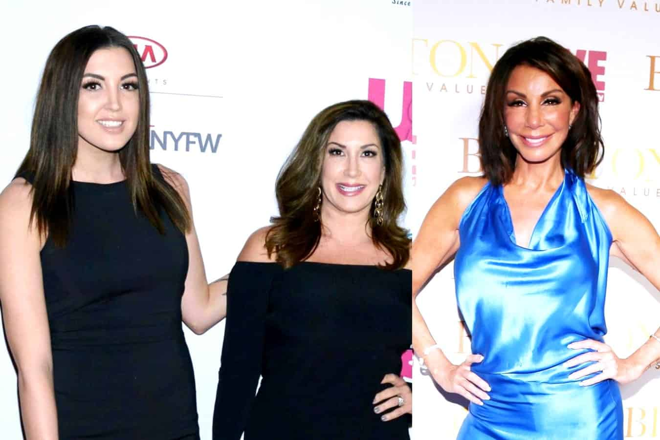 RHONJ's Ashlee Holmes Slams Danielle Staub After Danielle Claims Ashlee Left Her with 3 Herniated Disks After Season 2 Altercation, Plus Danielle Calls Out Jacqueline and Responds to Hypocrisy Claims