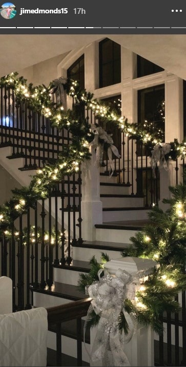 RHOC Jim Edmonds Christmas Home Decor