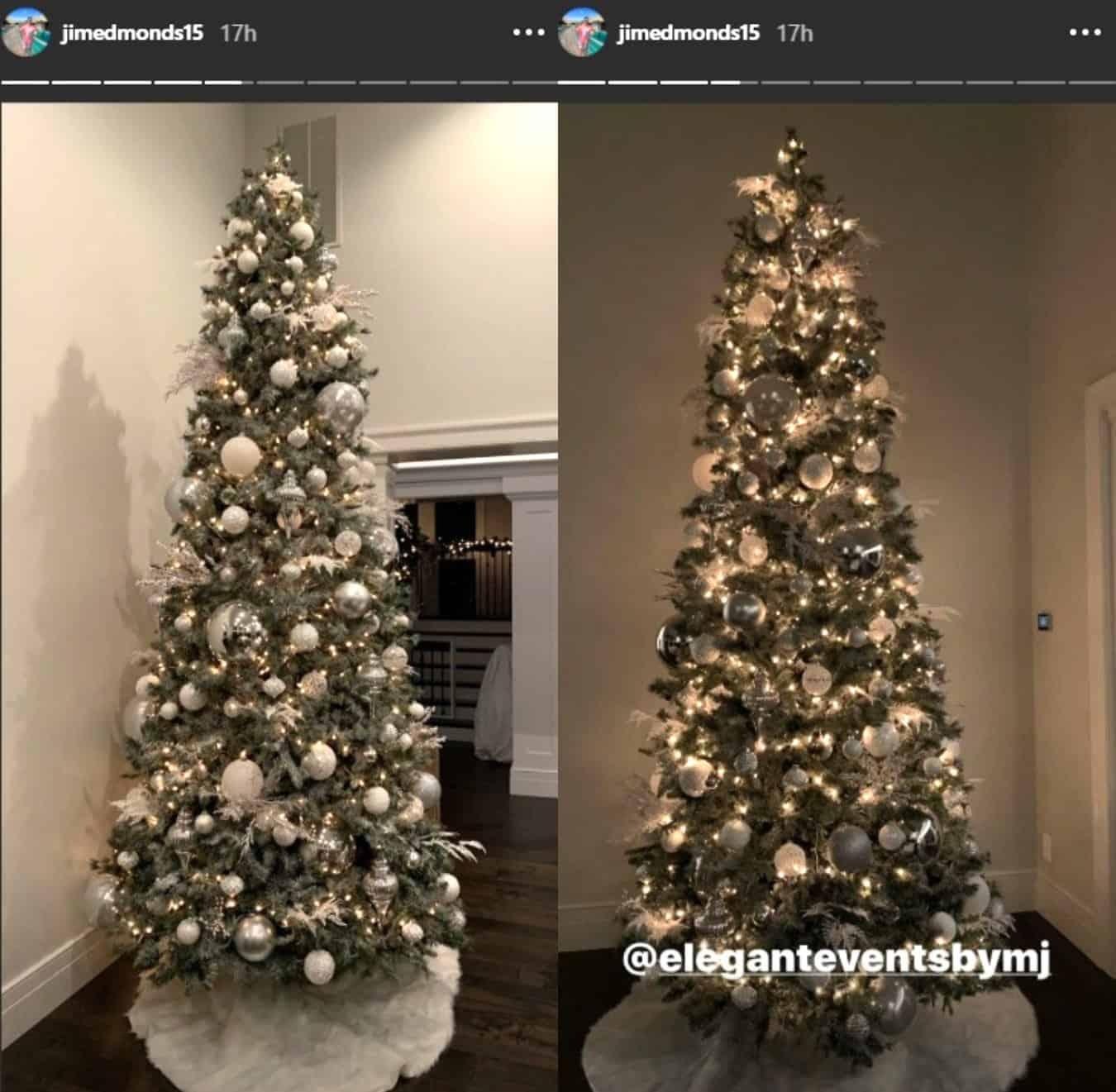 RHOC Jim Edmonds Christmas Tree Decor photos