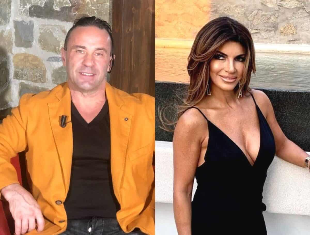 Joe Giudice Reveals What Wasn't Shown During His Reunion With Teresa in Italy, Claims He Was Edited as a Villain on the RHONJ