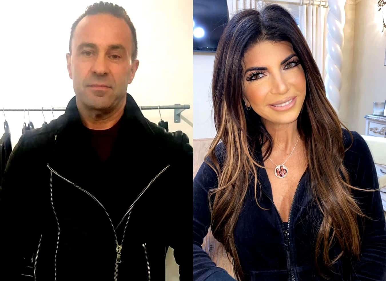 RHONJ's Joe Giudice Says Teresa 'Was' His Wife While Applauding Her