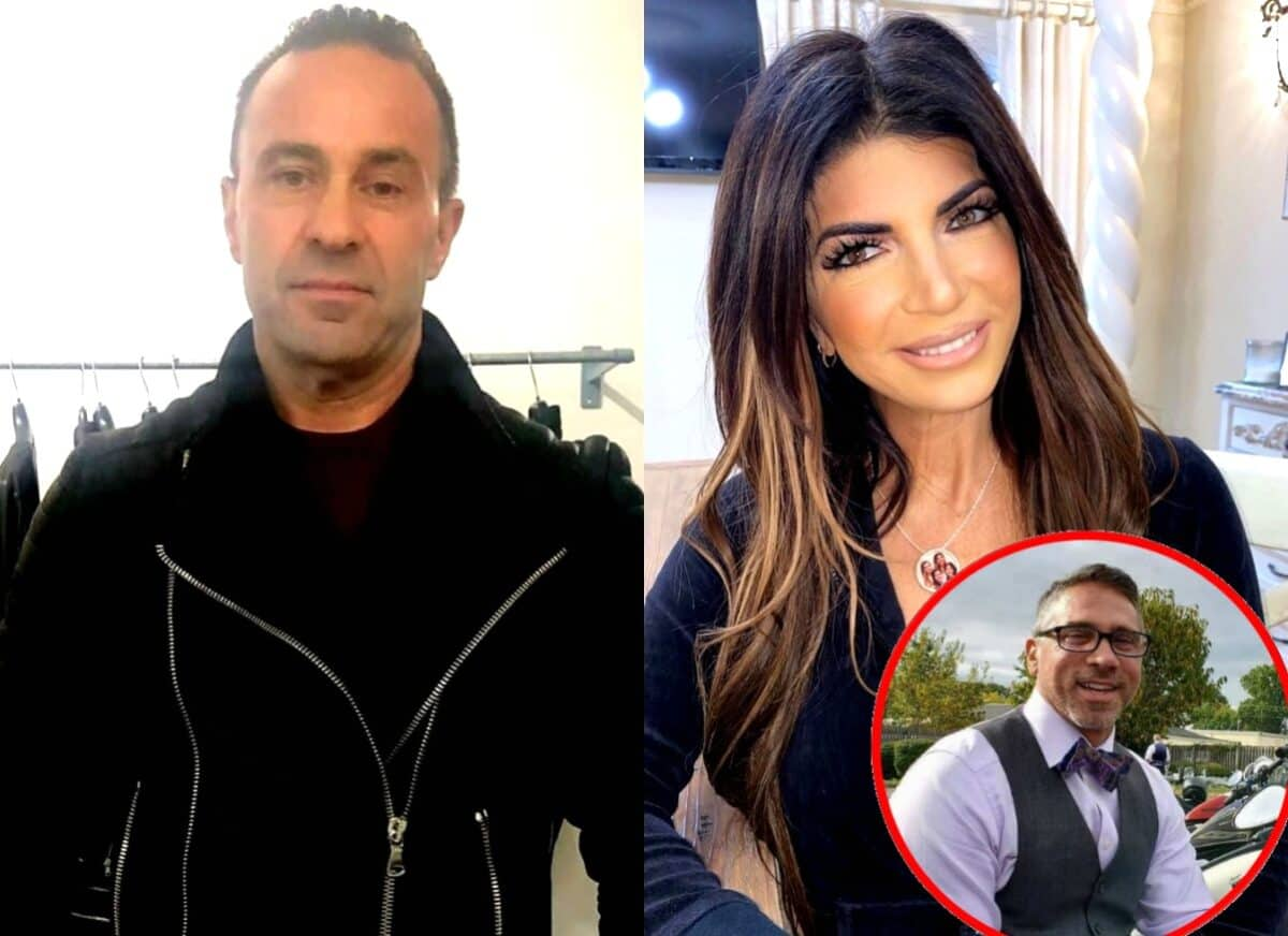 RHONJ's Joe Giudice Reveals How He's Coping With 'Heartbreak' After Split as Wife Teresa Giudice Spends Christmas With 'Pool Guy' Anthony Anthony Delorenzo