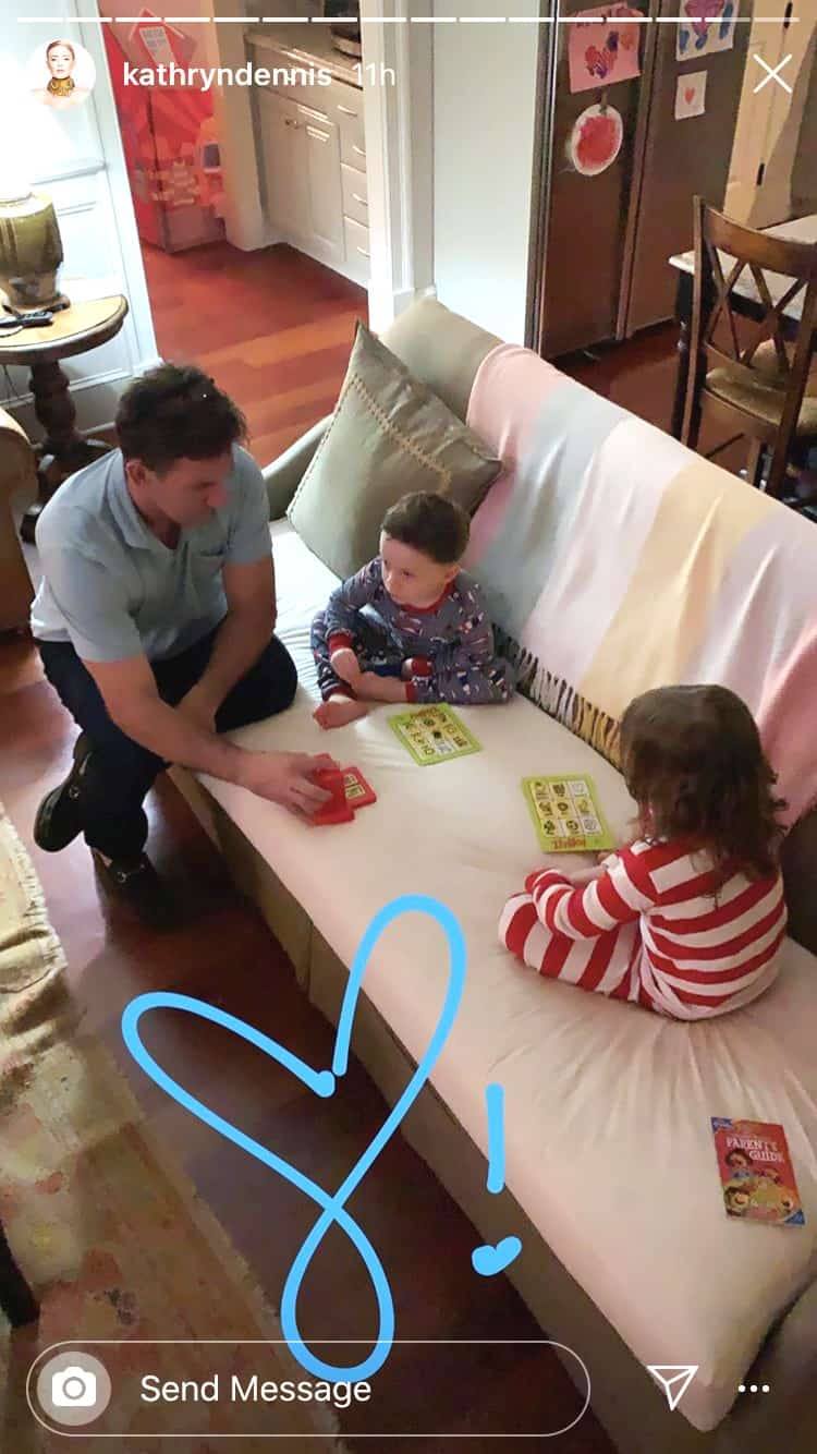 Southern Charm Kathryn Dennis Posts Thomas Ravenel With Kids on Christmas