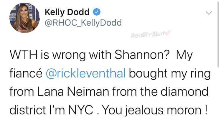 Kelly Dod slams Shannon Beador ring claim
