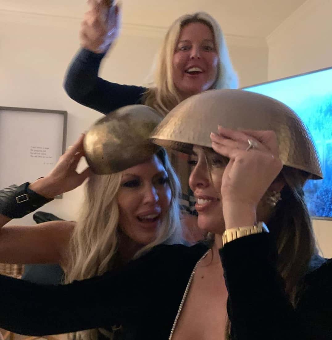 RHOC Kelly Dodd Hit on the Head With a Mallet