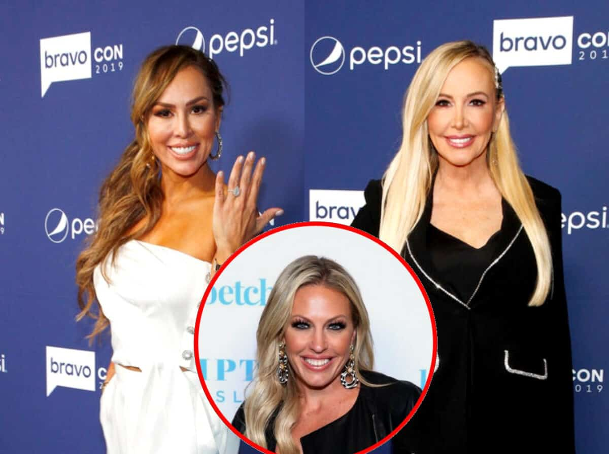 RHOC's Kelly Dodd Jokes About Hitting Shannon Beador at Braunwyn Burke's Birthday Party as Shannon Denies Talking About Kelly's Engagement Ring