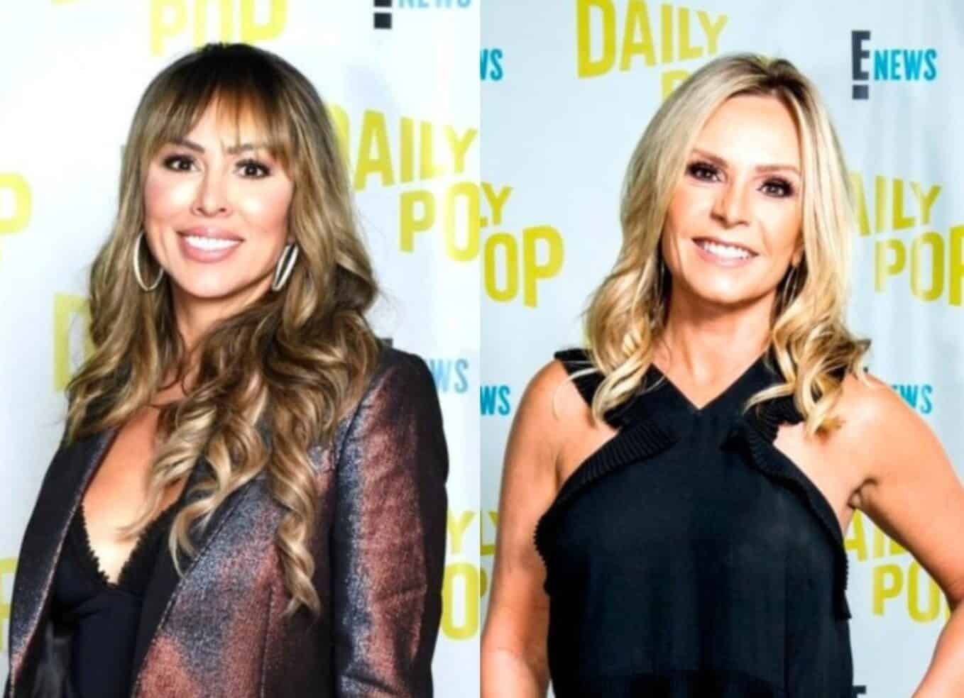 "Kelly Dodd Slams Tamra Judge as ""Thirsty"" and ""Mad"" After She Calls for Her Firing From RHOC as Tamra Responds to Claims of Hypocrisy Over Son Ryan's Allegedly Racist Behavior"
