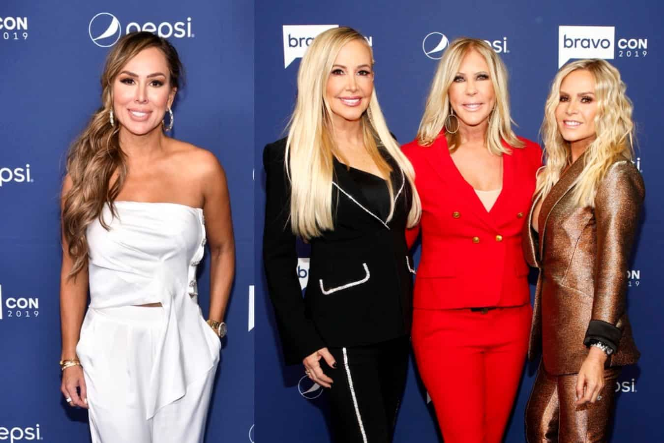 "Kelly Dodd Addresses Vicki Gunvalson and Tamra Judge Leaving the RHOC, Says ""Everyone Is Expendable,"" Plus She Shades 'Tres Amigas'"