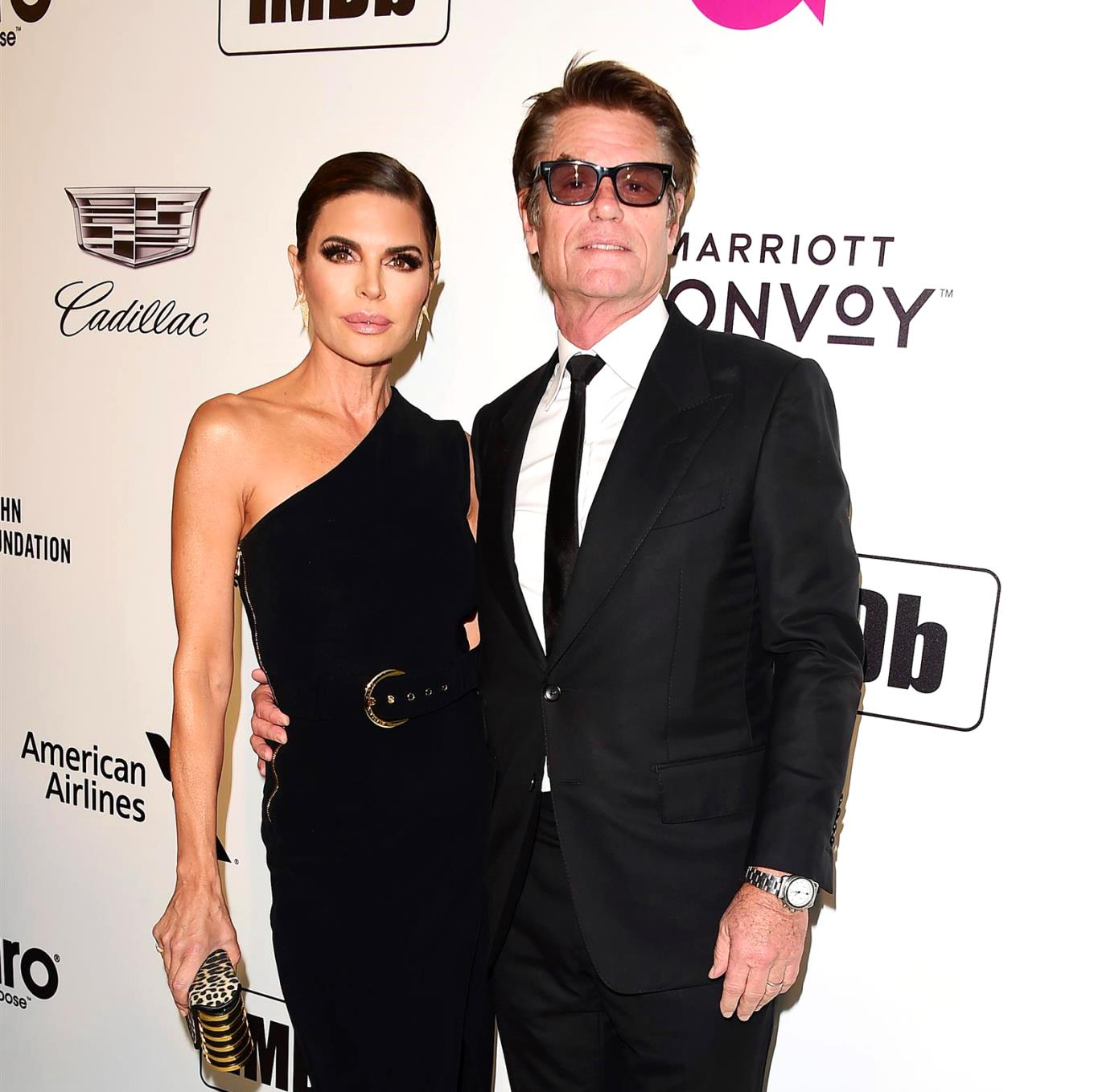 Harry Hamlin Reveals Why He Doesn't Follow Wife Lisa Rinna on Social Media, Plus He Dishes on the Secret to His Marriage With the RHOBH Star