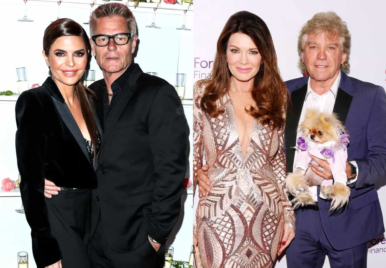 RHOBH's Harry Hamlin Reveals What He Thinks of Lisa Vanderpump and Ken Todd and Admits Bethenny Frankel Convinced Him to Allow Lisa Rinna to Join Show