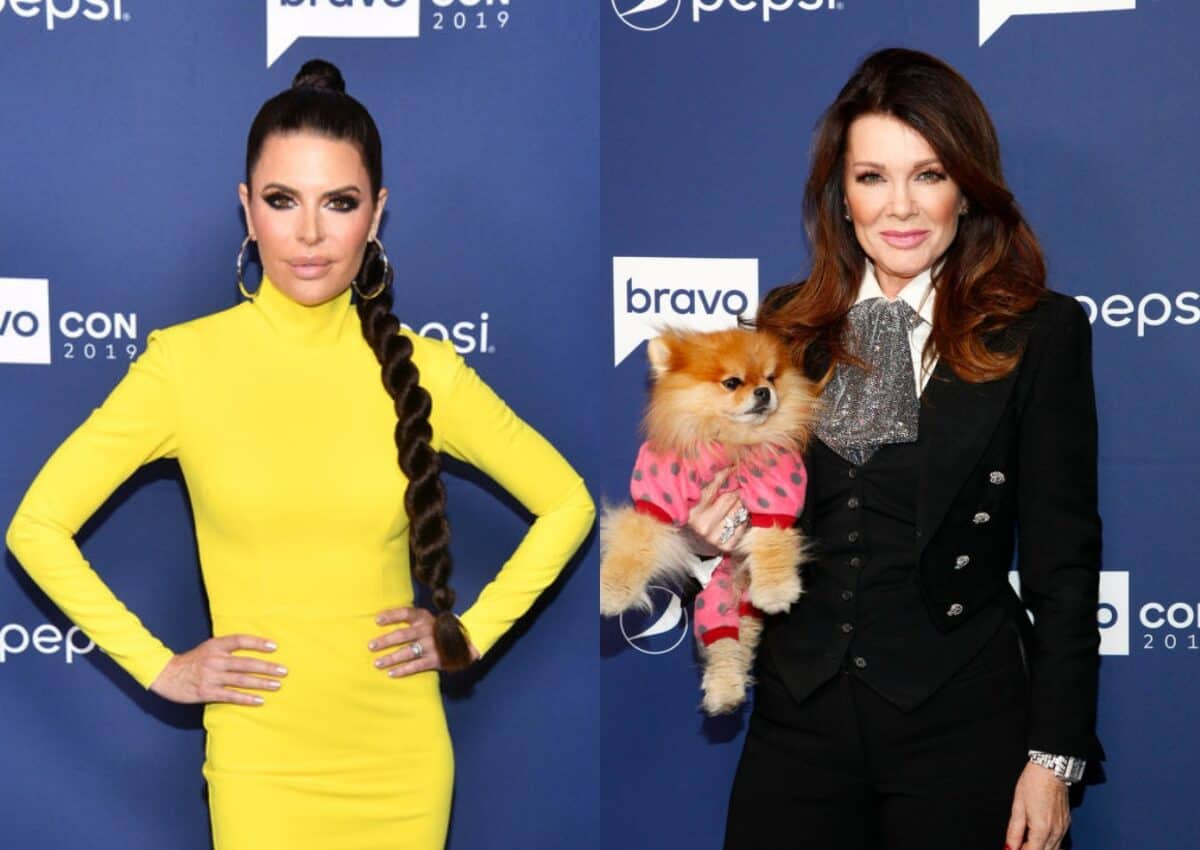 Lisa Rinna Implies Lisa Vanderpump May Have Leaked Stories Claiming RHOBH New Season is Lackluster, Teases Who's Gunning for Her This Season and Reveals How She's Different on Show