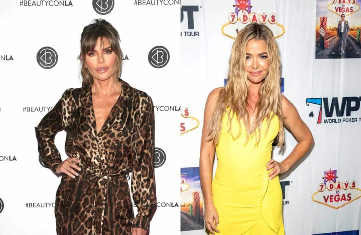 Reasons for Feud Between RHOBH Stars Denise Richards and Lisa Rinna are Revealed, Plus Why Denise is 'Frustrated'