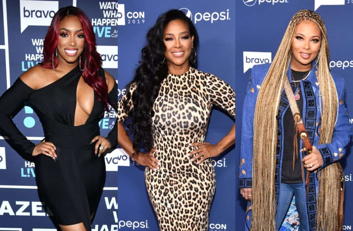 RHOA's Porsha Williams Defends Kenya Moore by Shading Eva Marcille