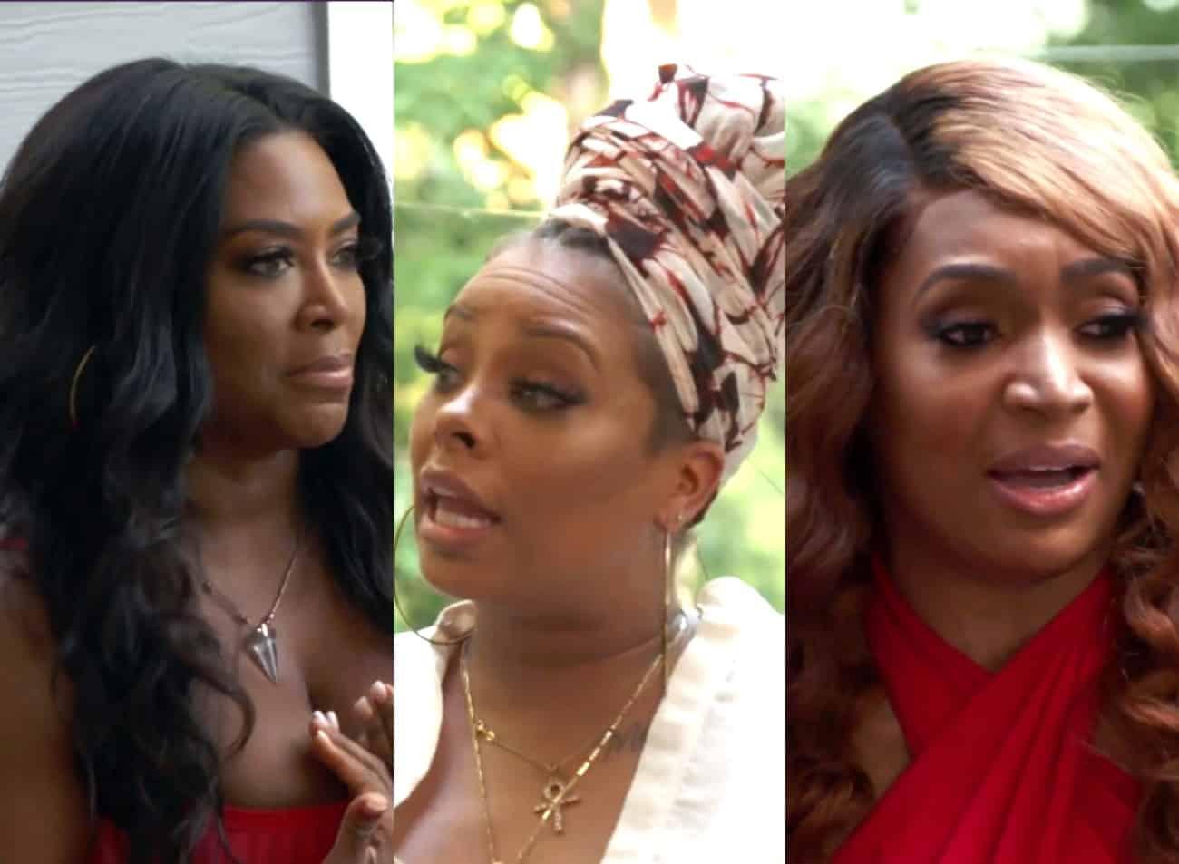 RHOA Recap: Kenya Feuds With Eva and Marlo at Bailey Que! Re-Gifts Eva's Gift to Porsha