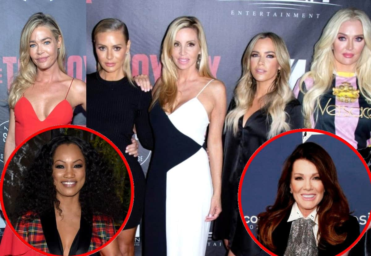 Find Out Why the RHOBH Cast is Upset with Denise Richards and Where She Stands With Lisa Vanderpump, Plus is Newbie Garcelle Beauvais on 'Team Denise'?