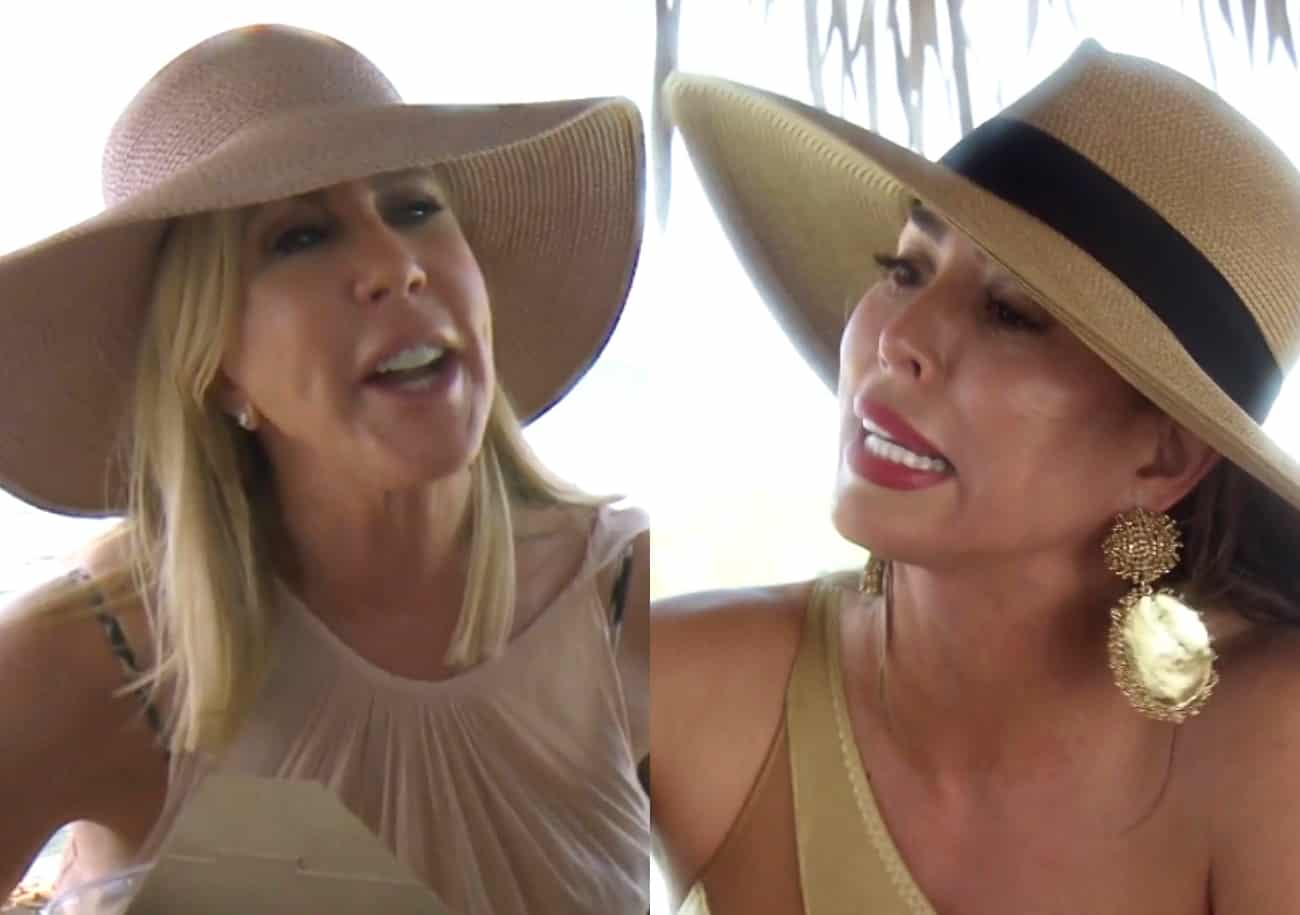 RHOC Recap: Vicki and Kelly Blast Each Other During Vacation Brawl, Plus Vicki Gets Injured