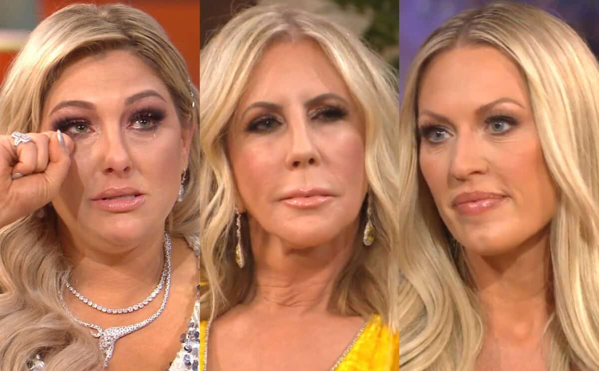 "RHOC Reunion Part 3 Recap: Gina Opens Up About Night Ex Got Arrested for Domestic Violence, Victoria Lashes Out at Braunwyn; The Women Toast to ""Sisterhood"""