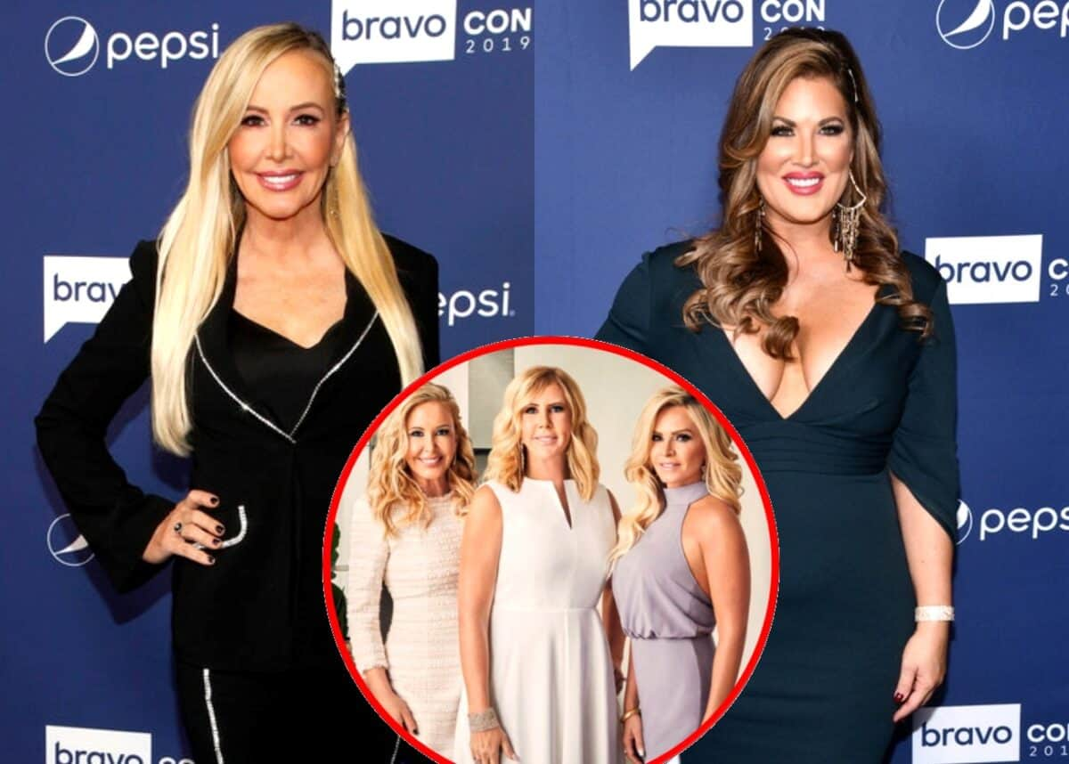 RHOC's Shannon Beador Accuses Emily Simpson of Bullying the 'Tres Amigas'