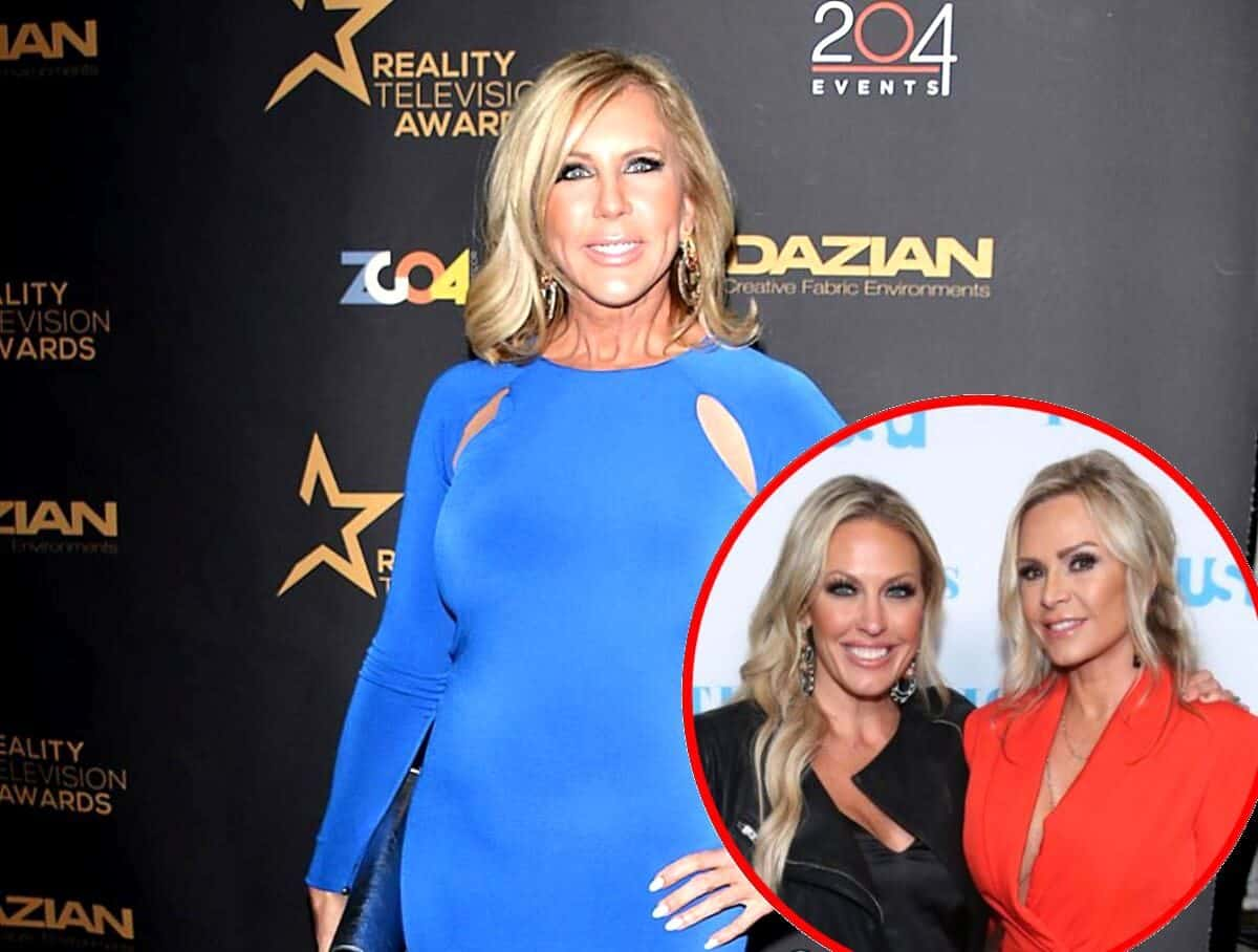 RHOC's Vicki Gunvalson Responds to Claims of Not Calling Out Tamra While Slamming Braunwyn for Racy Behavior, Explains What Caused Her Meltdown at the Reunion and Why She Believes it's Her Show