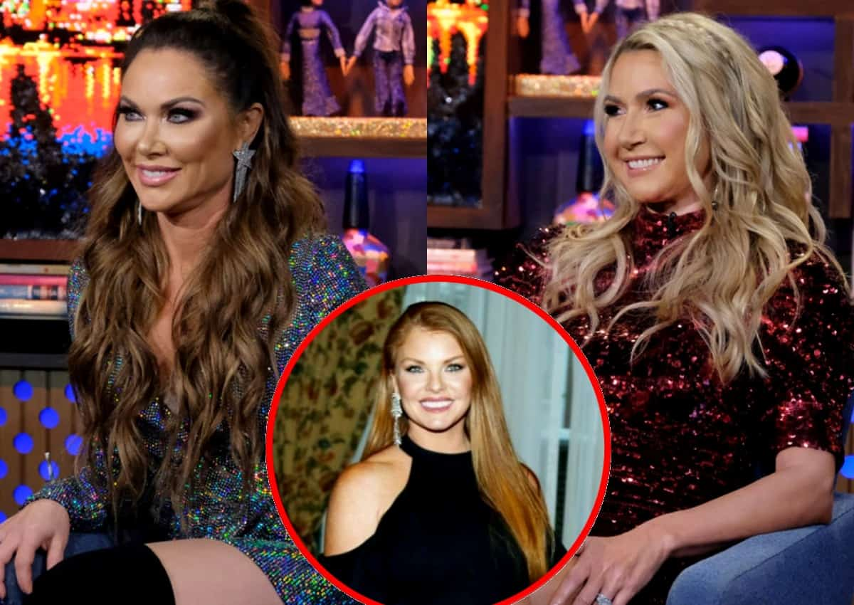 RHOD's LeeAnne Locken Gives Kary Brittingham the Middle Finger
