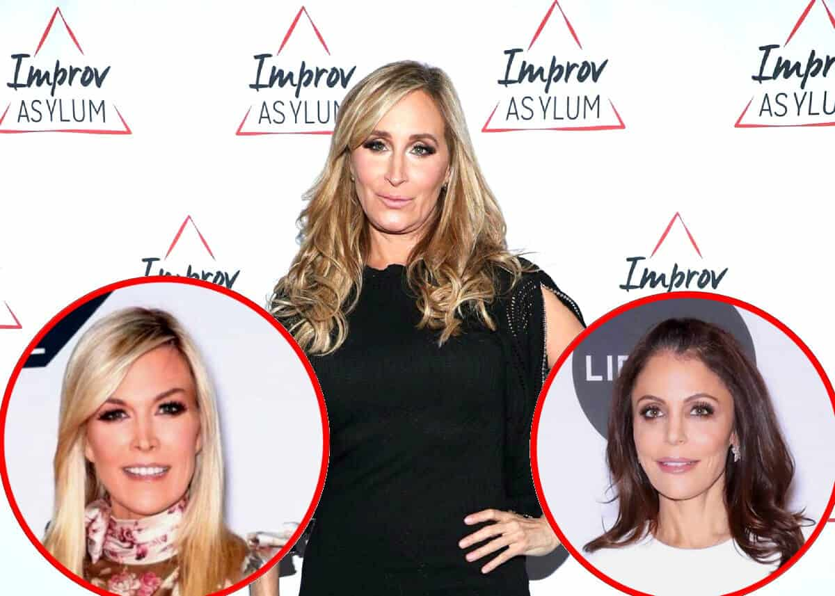 RHONY's Sonja Morgan Shades Tinsley Mortimer After Her Engagement and Says She Won't Miss Filming With Her, Reveals Where She Stands With Bethenny Frankel